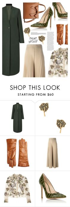 """It's Time to Treat Yo'Self"" by klementina-kuzma ❤ liked on Polyvore featuring Jigsaw, Marc Jacobs, Saks Fifth Avenue Collection, Givenchy and Gianvito Rossi"