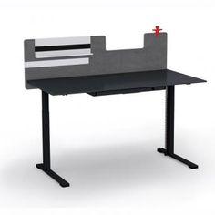 JAZZ sit-stand desks | Electric height adjustable desking systems | Design by Strand+Hvass | Narbutas