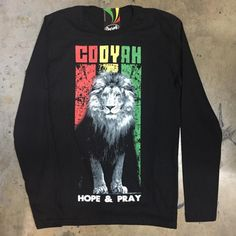 "Deeply Rooted ""Hope and Pray"" available now at Cooyah.com  #lion #cooyah #hopeandpray #rasta #irie #Jah #onelove #trinidad #jamaica #reggae #dancehall #afrobeat #dub #rastafari #ital #fashion #screenprint #culture"