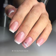 French nails by www.instagram.com/tengelpolishsalon - www.facebook.com/tenzwolle