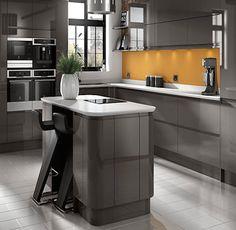 Wickes Sofia Graphite Kitchen. Kitchen-compare.com - Home - Independent Kitchen Price Comparisons