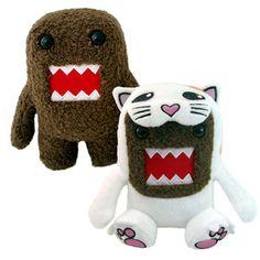 Cat Plush & Domo Plush S