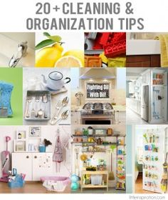 20+ Cleaning & Organization Tips the clean burnt pan idea sounds promising