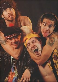 Red Hot Chili Peppers, RHCP, Anthony Kiedis young, Red Hot Chili Peppers 90`s