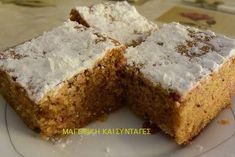 Greek Cake, Greek Sweets, Pastry Cake, Appetisers, Greek Recipes, Love Is Sweet, Sweet Life, Banana Bread, Cake Recipes