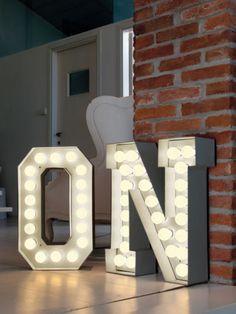Vegaz Bodenleuchte /Leuchtbuchstabe O - H 60 cm - Seletti Weiß | eBay