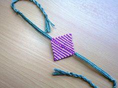 Friendship Bracelet ,Geometric flower, macrame - Kallisto