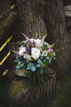 Cherish by Suzanne Neville navy bridesmaids Maids to Measure for the famous flooded rustic tipi wedding in Yorkshire wild flowers. | Rock My Wedding