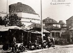 Photo: Bey Hamami in Egnatia str. Order Photos, Thessaloniki, Taj Mahal, Greece, Ottoman, Europe, Island, History, Building