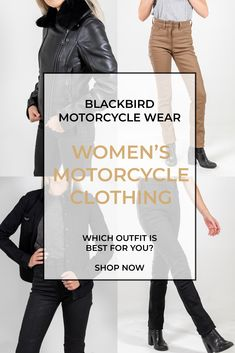 Investing in a motorcycle jacket is a statement. From your individual style to the conscious choice you make. It's why our products are not only made with sustainable materials, they're built to last, so you can buy less and know you're making a difference. Womens Motorcycle Fashion, Motorcycle Wear, Motorcycle Style, Biker Style, Motorbike Jackets, Skirt Suits, Pants Outfit, Streetwear Fashion, Investing