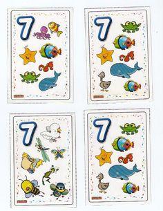 Zeven, free printable / Jogo de Cartas - Sotão dos Peixinhos - Picasa Webalbums