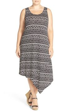 Free shipping and returns on Sejour Asymmetrical Jersey Midi Dress (Plus Size) at Nordstrom.com. It's easy to see the global appeal of this dress with its laid-back tank styling, cool asymmetrical hemline.