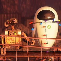 Wall-E. This has to be one of my favorite Disney movies
