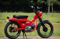 Honda CT110 - Long distance adventure contender?