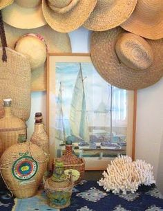 This looks very India Hicks to me. Seaside Style