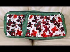 Necessaire das borboletas - Maria Adna Ateliê - Cursos e aulas de bolsas em necessaires em tecidos - YouTube