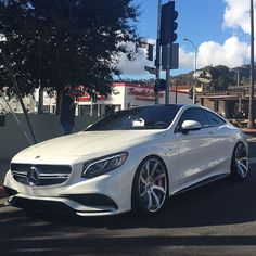 """Mercedes Benz S63 AMG Coupé Follow @TimothySykes for daily Luxury Lifestyle inspiration! Photo via: @Forgiato"""