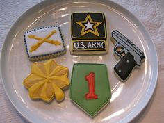 I have made the same US Army cookies :)