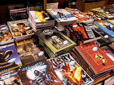 5 Must-See UK Comic Book Stores: Whether you start your journey in the north or head out from the south, these small, independently owned comic shops are worthy of a cross-country pilgrimage.
