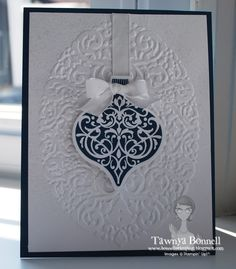 Midnight Muse Ornament Keepsakes & Holiday Frame embossing folder by Tawnya.