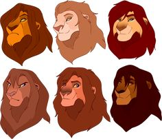 Lion designs: closed by BeeStarART on DeviantArt Kiara Lion King, Lion King 4, Lion King Fan Art, Lion Art, Disney Lion King, Lion King Images, Lion King Pictures, Lion King Drawings, Lion Drawing
