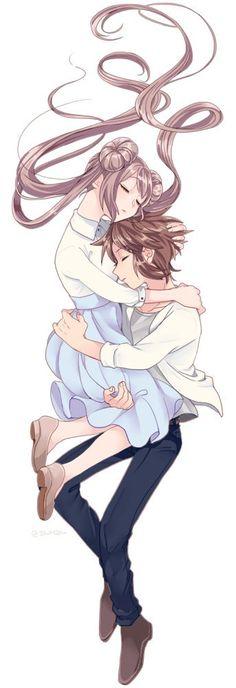 Pokemon Waifu, Pokemon Manga, Pokemon Comics, My Pokemon, Pokemon Couples, Cute Anime Couples, Pretty Anime Girl, Anime Love, Black Pokemon