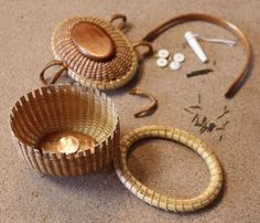 Miniature Basket : 365 DAYS of NANTUCKET BASKET