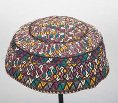 Vintage Turkmen HAT from Yomud tribe  Central by SOrugsandtextiles