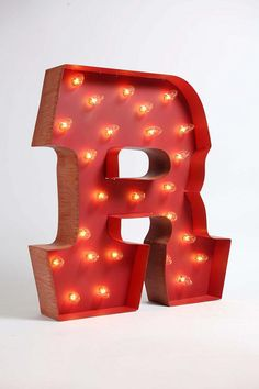 Marquee Alphabet Light - in my initial of course :)