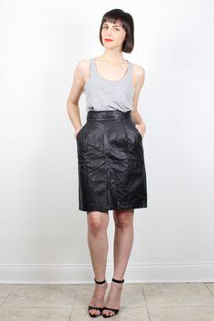 Samantha Barks black tank & black leather skirt   Best Leather ...