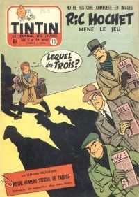 Journal de TINTIN édition Belge N° 13 du 30 Mars 1955