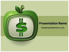 47 best free accounting and financial powerpoint ppt templates download free dollar fruit powerpoint template for your powerpointpresentation toneelgroepblik Image collections