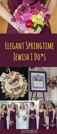 Elegant Wedding Theme in Purple Hues