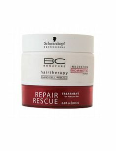 For Damaged Hair: Schwarzkopf Professional Bonacure Repair Rescue TreatmentWhen hair looks likes it's one more perm away from just giving up altogether, reach for this treatment ($26.19,walgreens.com).
