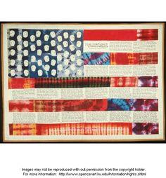 Faith Ringgold Flag Art