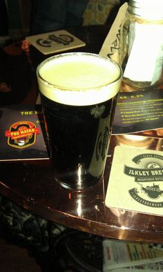 Twitter / mylifeinleeds: The Mayan brewed by Ilkley Brewery in England