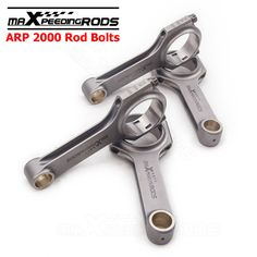 Forged Connecting Rods for Peugeot 205 Rallye 1.3L TU24 112.3mm Conrod Rod Bielle ARP 2000 Bolt 4340 Forged Floating Balanced