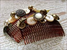 Decorated combs
