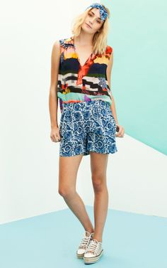 Holiday by Megan Park Resort 2014 Trunkshow Look 3 - Moda Operandi