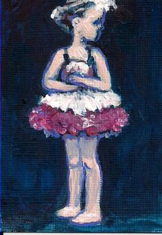 Paintings Aceo Original Hand Painting Oil Painting On Canvas Naked Woman By Chi Lok