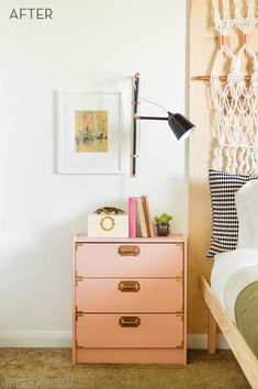 I say it every time, but I love how creative you can be with IKEA furniture. IKEA goodies are usually pretty basic with simple lines leaving you, the one with t