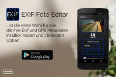 Our Exif Foto Editor - get it on the Google Plastore! https://play.google.com/store/apps/details?id=de.pmd.exifeditor