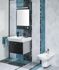 Bagni piccoli: 15 soluzioni per una ristrutturazione moderna! Ispiratevi Wood Vinyl, Types Of Flooring, Home Repair, Bathroom Flooring, Bathroom Interior, Hardwood Floors, Mirror, Furniture, Sink