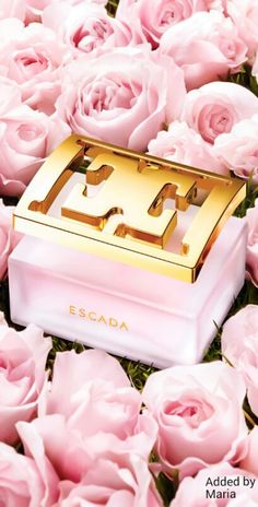 Escada Perfume ❤️ Pink and Gold. Everything Pink, Fragrance Parfum, Strobing, Smell Good, Pink Fashion, Coco Chanel, Pink Roses, Pretty In Pink, Pink And Gold