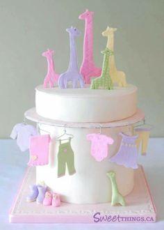 Baby boy shower : seductive etsy baby shower ideas and etsy baby shower owl Baby Cakes, Baby Shower Cakes, Baby Shower Fun, Baby Shower Parties, Cupcake Cakes, Mini Cakes, Cake Day, Eat Cake, Gorgeous Cakes