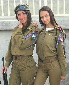 Gotta love a girl in uniform.