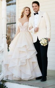 Bryce Stevie Tulle skirt wedding separates by Martina Liana