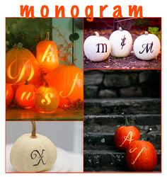 We could write a certain person's name on pumpkins!!!!