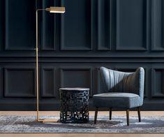 Home Lighting, Living Spaces, Modern Design, Furniture Design, Chair, Home Decor, Decoration Home, Room Decor, Contemporary Design