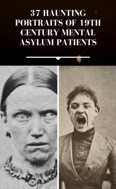 37 Haunting Portraits Of Victorian Lunatic Asylum Patients 19th Century England, England Houses, Mental Asylum, Amazing Photography, Beauty Hacks, Victorian, Portraits, Funny, Psychiatric Hospital